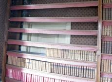 een verstopte deur achter de boeken!