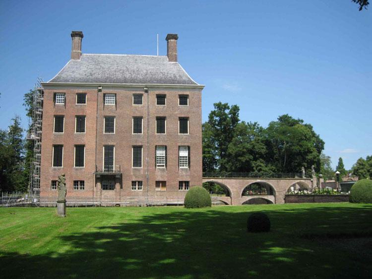 De bibliotheek van Kasteel Amerongen