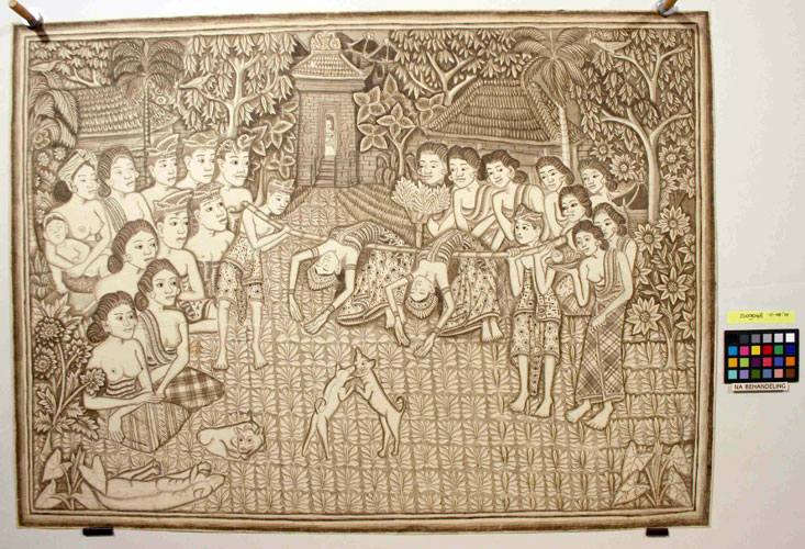 Balinese tekeningen uit de Leo Haks collectie