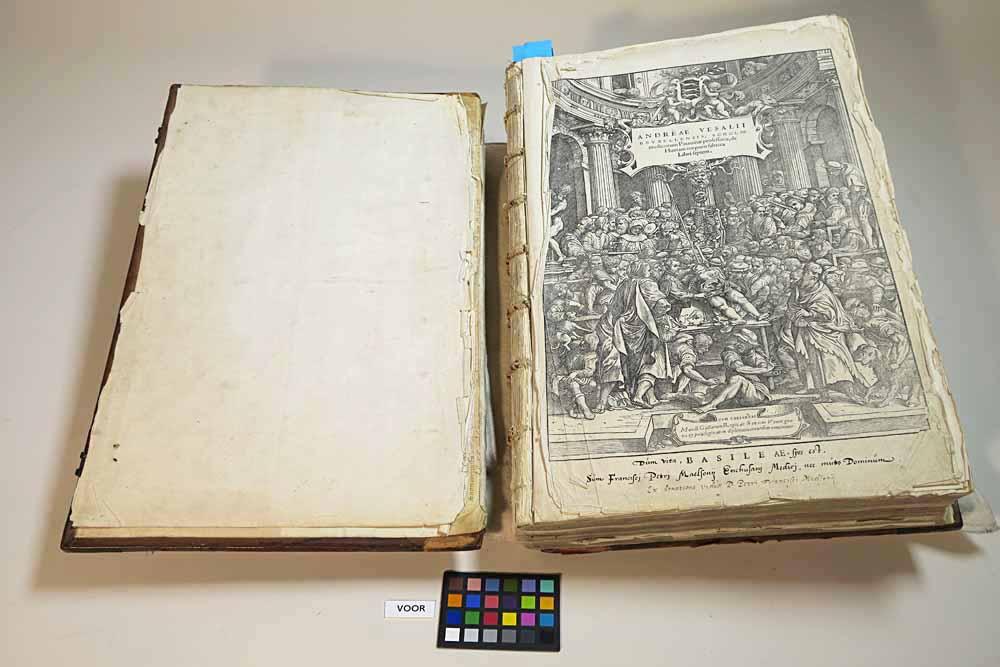 De Vesalius uit de Enkhuizer Librije