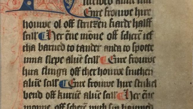 Onderzoek naar handschriften Richthofencollectie Tresoar